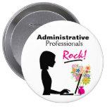Administrative Professionals Rock Pin