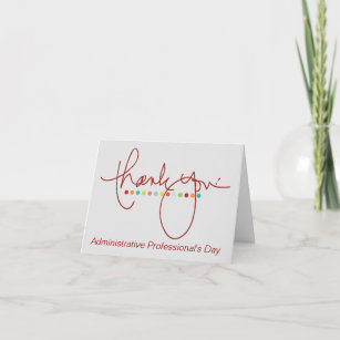 administrative professional thank you gifts on zazzle