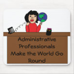 Administrative Professionals World Mousepad