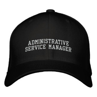 Administrative Service Manager Embroidered Hat