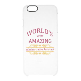 Administrator Assistant Clear iPhone 6/6S Case
