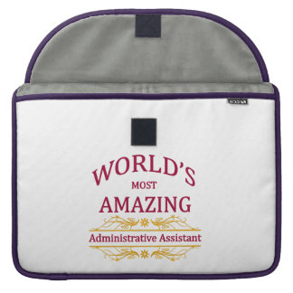 Administrator Assistant MacBook Pro Sleeve