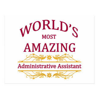 Administrator Assistant Postcard