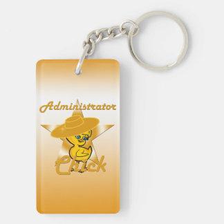 Administrator Chick #10 Keychain