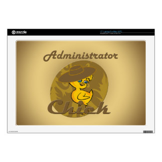 """Administrator Chick #6 Skin For 17"""" Laptop"""