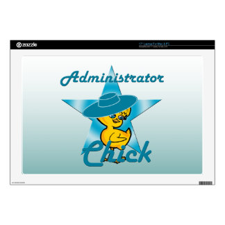 """Administrator Chick #7 Skin For 17"""" Laptop"""