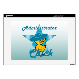 Administrator Chick #7 Skin For Laptop