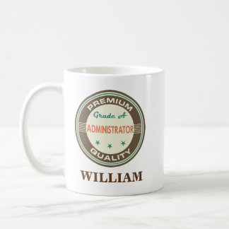 Administrator Personalized Office Mug Gift