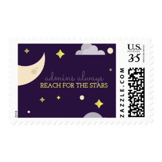 Admins Reach for the Stars Postage