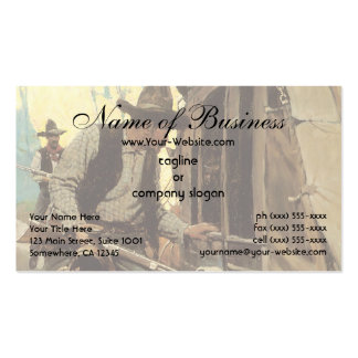 Admirable Outlaw by NC Wyeth Double-Sided Standard Business Cards (Pack Of 100)
