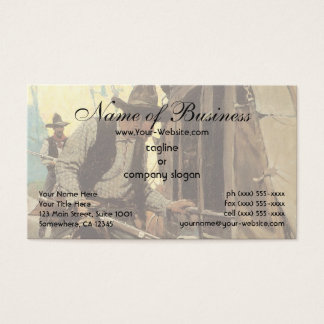 Admirable Outlaw by NC Wyeth Business Card