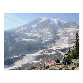 Admiración del Monte Rainier Seattle Tarjetas Postales