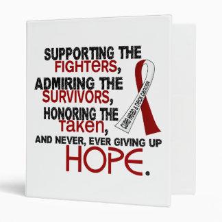 Admiración favorable honrando al cáncer principal