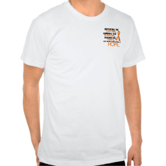 Admiración favorable honrando la leucemia 3,2 camisetas