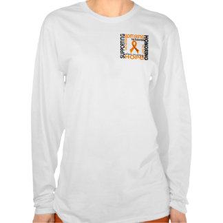 Admiración favorable honrando la leucemia 9 t shirts