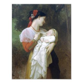 Admiración maternal de Guillermo Adolfo Bouguereau Fotografías