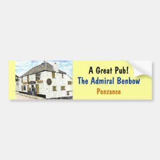 'Admiral Benbow' Bumper Sticker