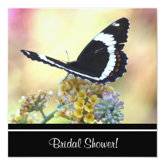 Admiral Butterfly Bridal Shower Invitation