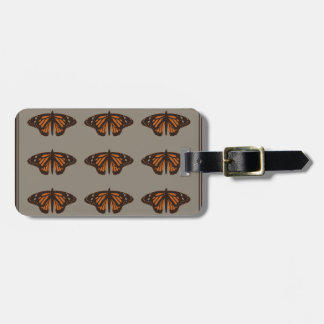 Admiral butterfly brown.png bag tags