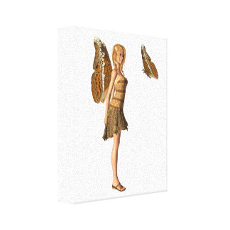 Admiral Butterfly Fairy - 1 Canvas Print