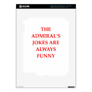 admiral decal for iPad 3