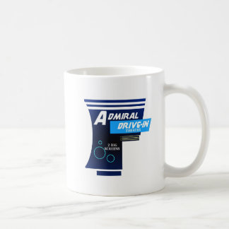 Admiral Drive-In Movie Sign Coffee Mug