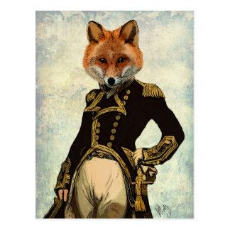 Admiral Fox Full 2 Postcard