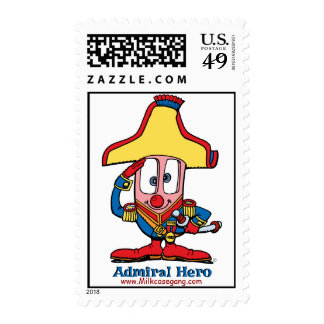 Admiral Hero Postage