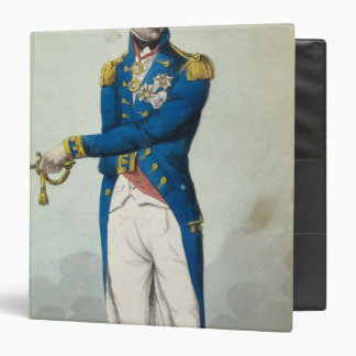 Admiral Horatio Nelson 3 Ring Binder