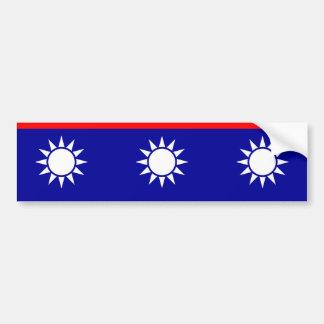 Admiral Ii, China flag Bumper Sticker
