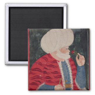 Admiral Khair-ed-din  1540 2 Inch Square Magnet