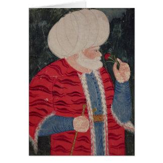 Admiral Khair-ed-din  1540 Card