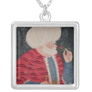 Admiral Khair-ed-din  1540 Silver Plated Necklace
