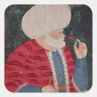 Admiral Khair-ed-din  1540 Square Sticker