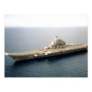 Admiral Kuznetsov Postcard