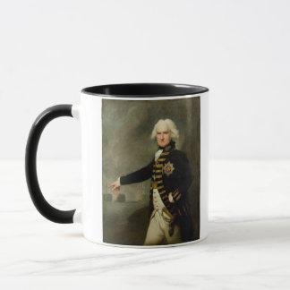 Admiral Lord Bridport (1727-1814) c.1795 (oil on c Mug