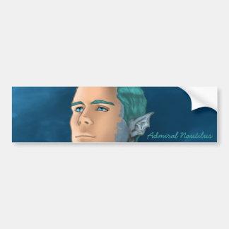 Admiral Nautilus Bumper Sticker