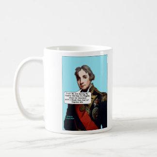 Admiral Nelson comic mug