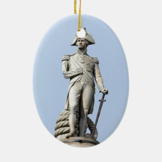 Admiral Nelson - Great Britons - Pro photo Ceramic Ornament