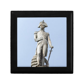 Admiral Nelson - Great Britons - Pro photo Trinket Boxes