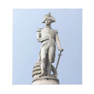 Admiral Nelson - Great Britons - Pro photo Memo Note Pads