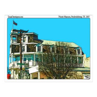 Admiral Nimitz Museum, Fredericksburg, TX Postcard