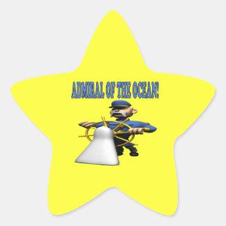 Admiral Of The Ocean Star Sticker