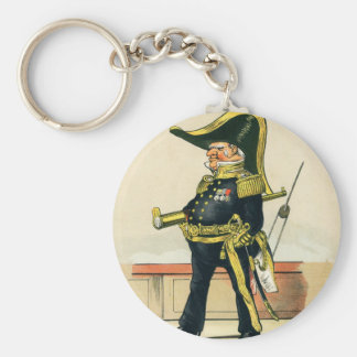 Admiral of the Royal Navy Keychain