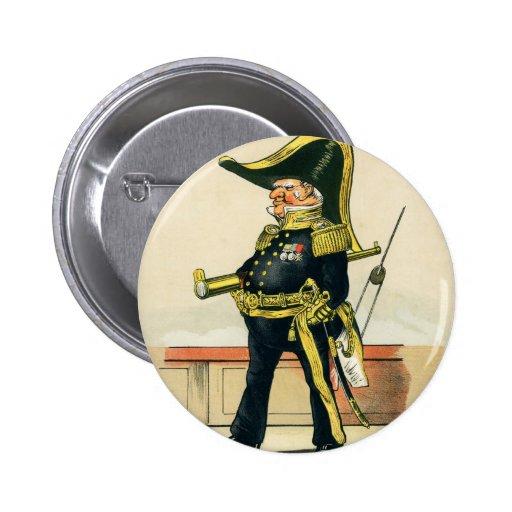 Admiral of the Royal Navy Pins
