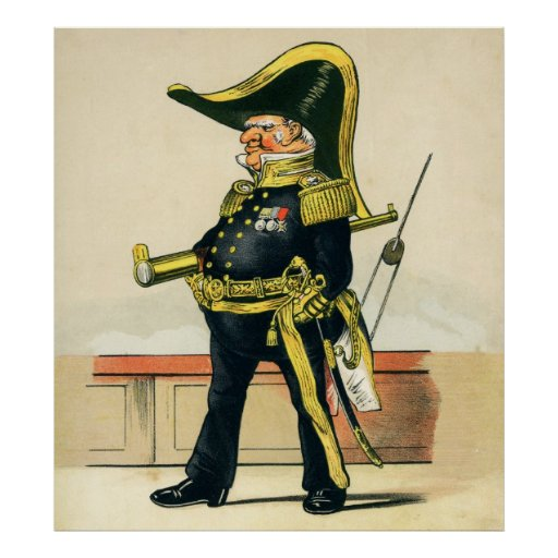 Admiral of the Royal Navy Poster