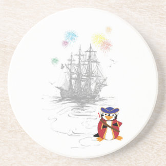 Admiral Penguin Coaster