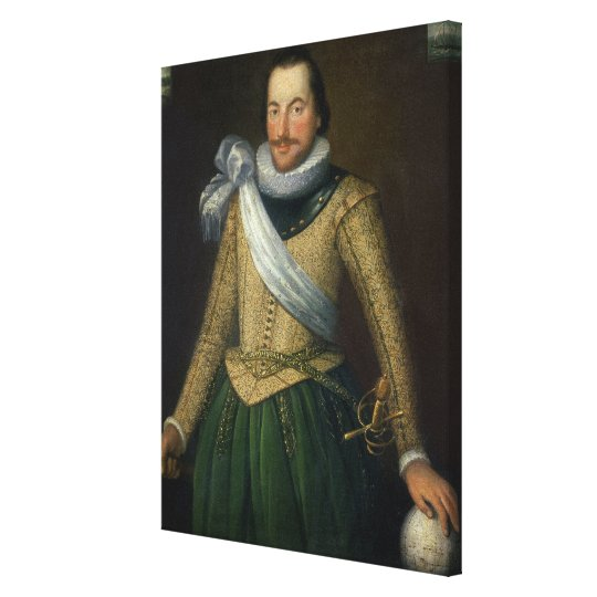 Admiral Sir Thomas Button (d.1694) Canvas Print