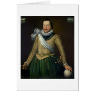 Admiral Sir Thomas Button (d.1694) Greeting Card