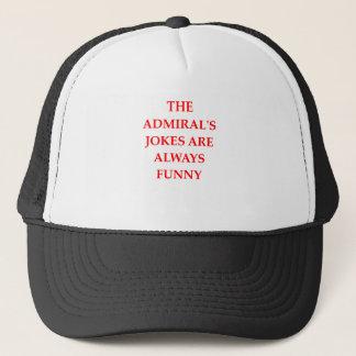 admiral trucker hat